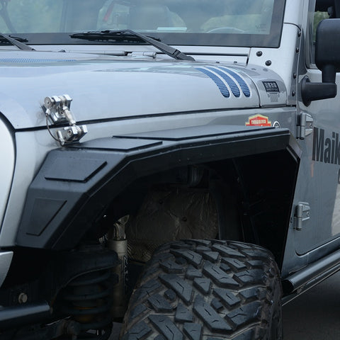 New Design Cobra Fender For Jeep Wrangler Jk 2007+ Flare Trims