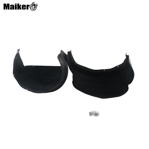 Plastic rear Inner Fender For F150 Accessories 17-19 black car Fender Trim For F150