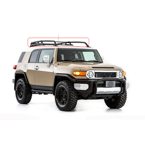 Roof rack for FJ Cruiser 07+ accessories 4x4 auto steel roof luggage for FJ
