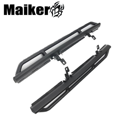 Stainless Steel 2 Doors Side Step Nerf Bar Protector For Jeep Wrangler Jk 10th Anniversary Running Board