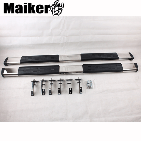 Stainless steel side step bar running boards for Dodge Ram 1500 accessories nerf bar for Ram