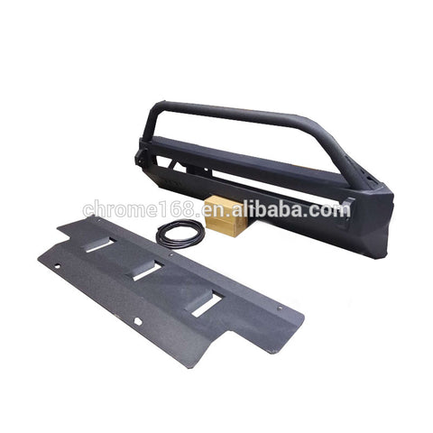Steel Front Bumper With Light For Tacoma Accessories Car Full Set Front Bumper From Maiker