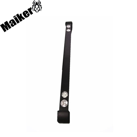 Steel Front Bumper With Light For Land Rover Defender Accessories Hot Selling Bumper From Maiker