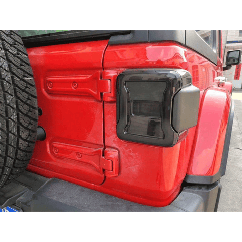 Taillight for Jeep Wrangler JL rear light parts for JL offroad smoke lens light lamp from Maiker