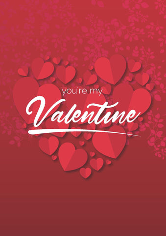 You're My Valentine poster