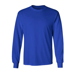 Men's Long Sleeve Crew Neck Tee
