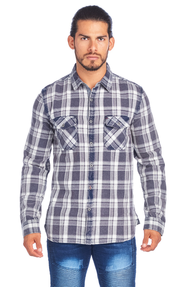Men's Casual Button Down Shirt