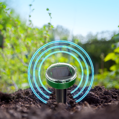 Solar Powered Ultrasonic Pest Defender