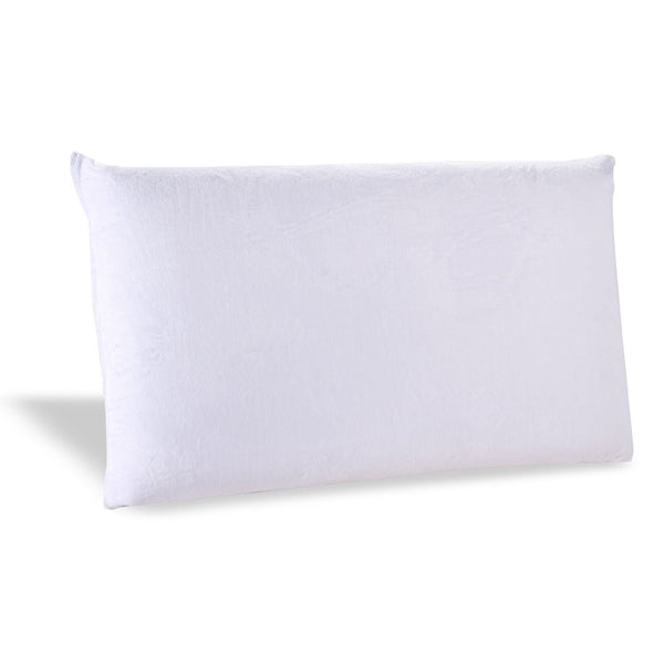 Queen size Ventilated Memory Foam Pillow with Cover - Medium Firm