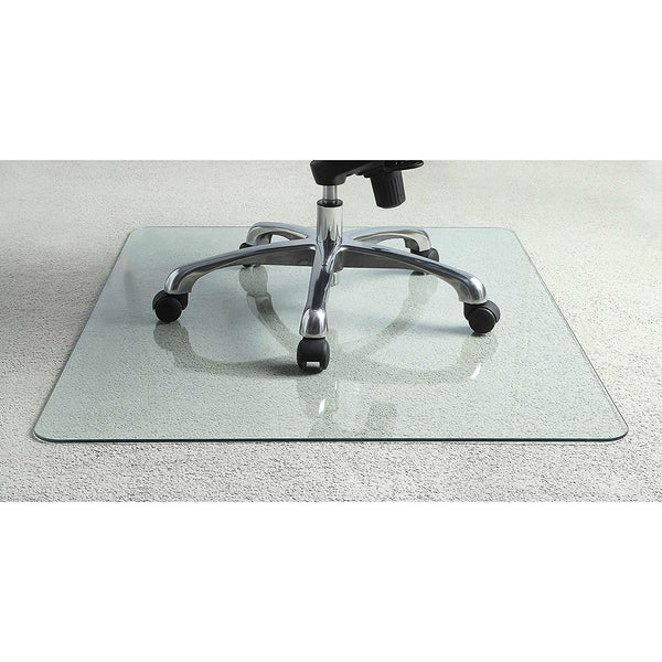 Heavy Duty 36 Inch Tempered Glass Chair Mat
