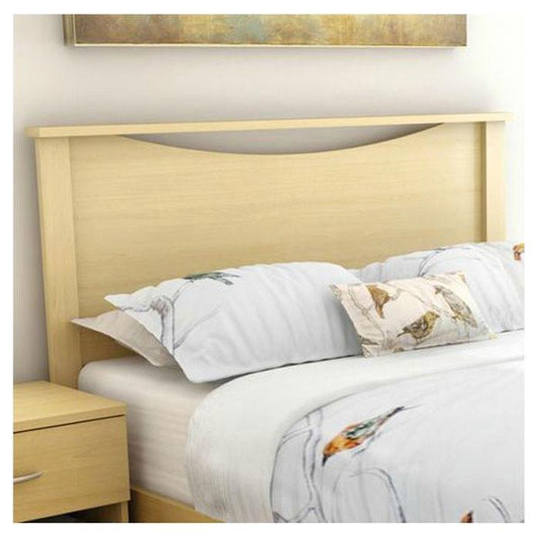 Full / Queen size Headboard in Natural Maple Finish