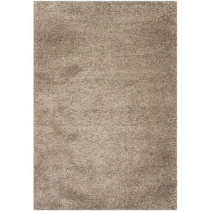 4' X 6' Hand-Tufted Plush Taupe Area Rug