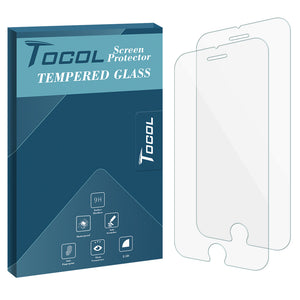 TOCOL iPhone 6/6s Screen ProtectorTempered Glass Film, 2-Pack
