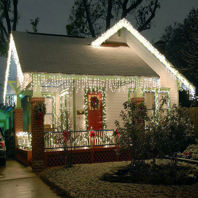 Cool White Led Outdoor Christmas Decoration Light 3 Meter 304 Led