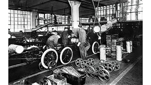 Ford assembly line: 1913.