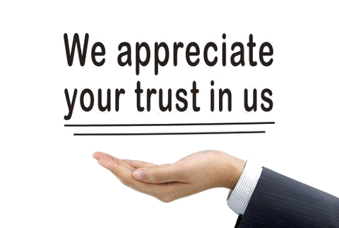 We appriciate your trust in us, your in good hands.