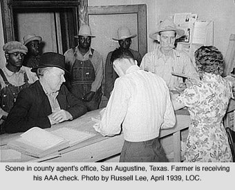 The Agricultural Adjustment May 12, 1933.