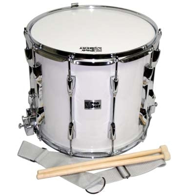 Pro Beat Marching Snare Drum (101-MDH1410SWH) - Science On Supply