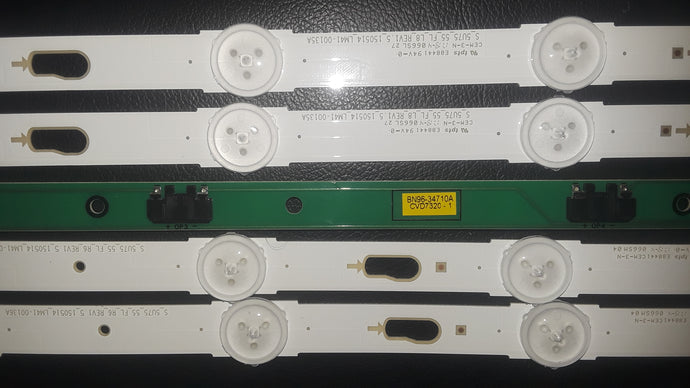 Samsung UN55MU6300 Led Strips (S_5U75_55_FL_L8, S_5U75_55_FL_L8 R6 ) Complete - Science On Supply