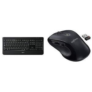 Logitech K800 Wireless Illuminated Keyboard with M510 Wireless Computer Mouse - Science On Supply