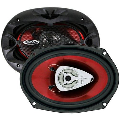 BOSS Car Speakers, 6 x 9 Inch, Full Range, 2 Way - Science On Supply