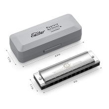 Load image into Gallery viewer, Eastar Captain Blues Diatonic 10 Holes C Key Beginner Harmonica - Science On Supply