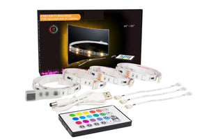 LED Strip Lights, 2M/6.56ft RGB LED Light Strip for 40 to 60in TV - Science On Supply