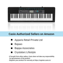 Load image into Gallery viewer, Casio CTK-2550 61-Key Portable Keyboard with App Integration - Science On Supply