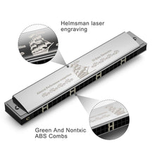 Load image into Gallery viewer, Eastar 24 Holes Admiral Performance C Key Tremolo Harmonica - Science On Supply
