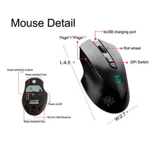 Load image into Gallery viewer, Rechargeable Keyboard and Mouse Fast Charging,Wireless 2.4G - Science On Supply