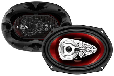 BOSS Car Speakers 6 x 9 Inch, Full Range, 5 Way - Science On Supply