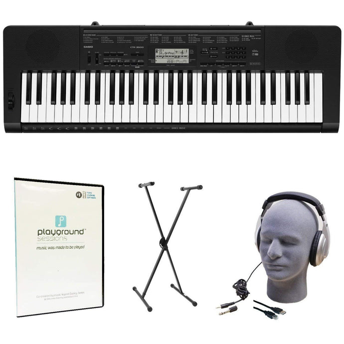 Casio CTK3500 Playground Sessions Pack - Science On Supply
