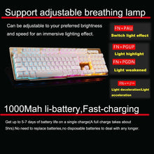 Load image into Gallery viewer, Rechargeable Backlit Gaming Keyboard Mouse Fast Charging,Wireless 2.4G - Science On Supply