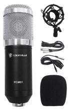 Load image into Gallery viewer, Pro Studio Recording Condenser Microphone Mic+Metal Shock Mount - Science On Supply