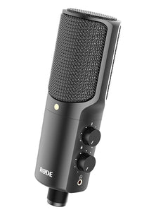 Rode NT-USB Versatile Studio-Quality USB Cardioid Condenser Microphone - Science On Supply