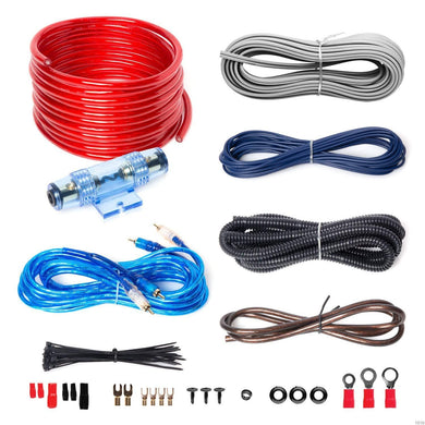 Audio KIT2 8 Gauge Amplifier Installation Wiring Kit - Science On Supply