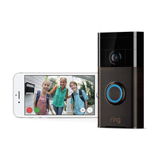 Load image into Gallery viewer, Ring Wi-Fi Enabled Video Doorbell in, Works with Alexa - Science On Supply