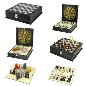Home Gaming System, 8-Games in Elegantly Designed Wooden Box - Science On Supply