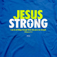 Load image into Gallery viewer, Jesus Strong T-Shirt - Science On Supply