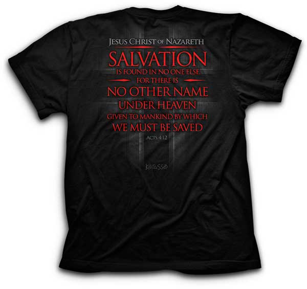 Salvation T-Shirt - Science On Supply