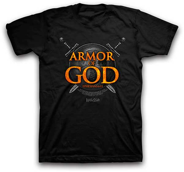 Armor of God Christian T-Shirt - Science On Supply