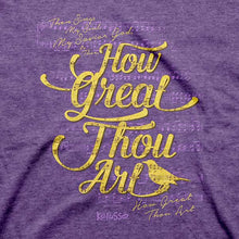 Load image into Gallery viewer, How Great Thou Art Christian T-Shirt - Science On Supply