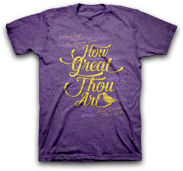 How Great Thou Art Christian T-Shirt - Science On Supply