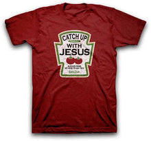 Load image into Gallery viewer, Catch Up With Jesus Christian T-Shirt - Science On Supply