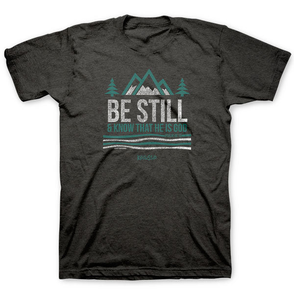 Be Still and Know T-Shirt - Science On Supply