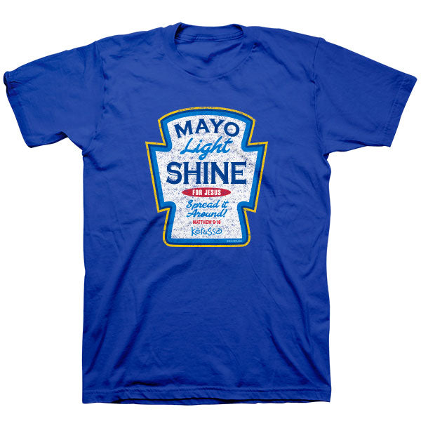 Mayo Light Shine T-Shirt - Science On Supply