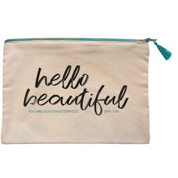 grace & truth® Hello Beautiful Zipper Bag - Science On Supply