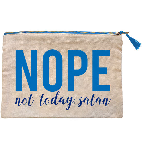 grace & truth® Nope Zipper Bag - Science On Supply