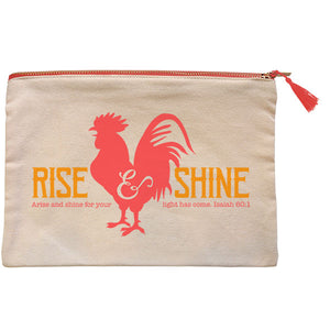 grace & truth® Rise And Shine Zipper Bag - Science On Supply