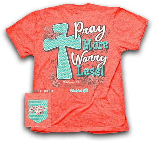 Pray More Christian T-Shirt - Science On Supply